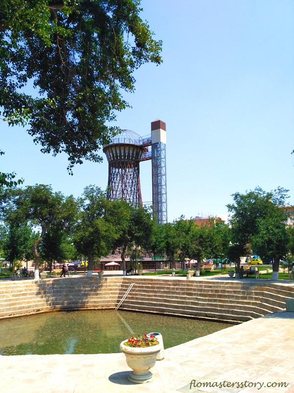 водонапорная башня инженера Шухова в Бухаре