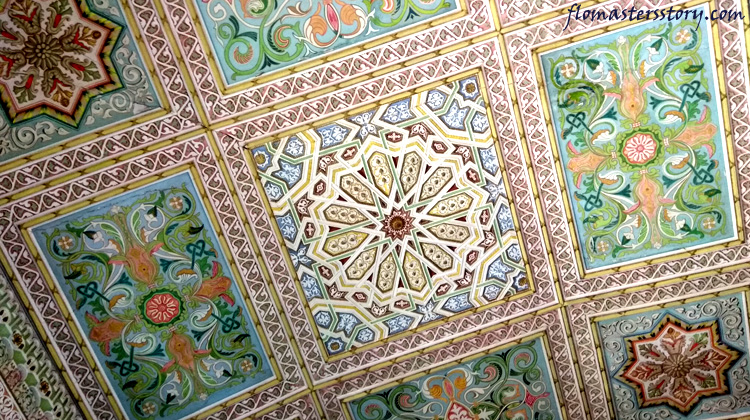 потолок дворца Кагана