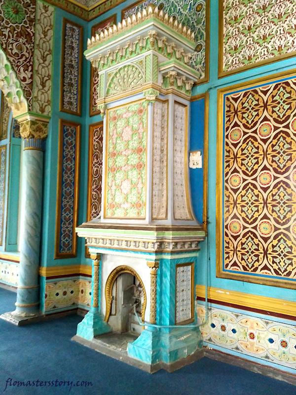печи дворца Кагана