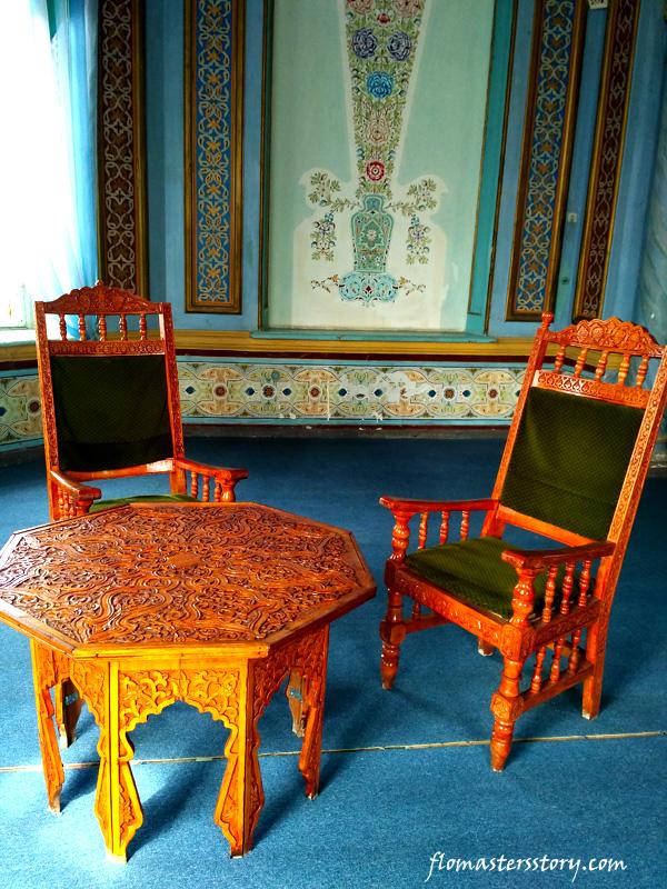 зал приемов дворца Кагана