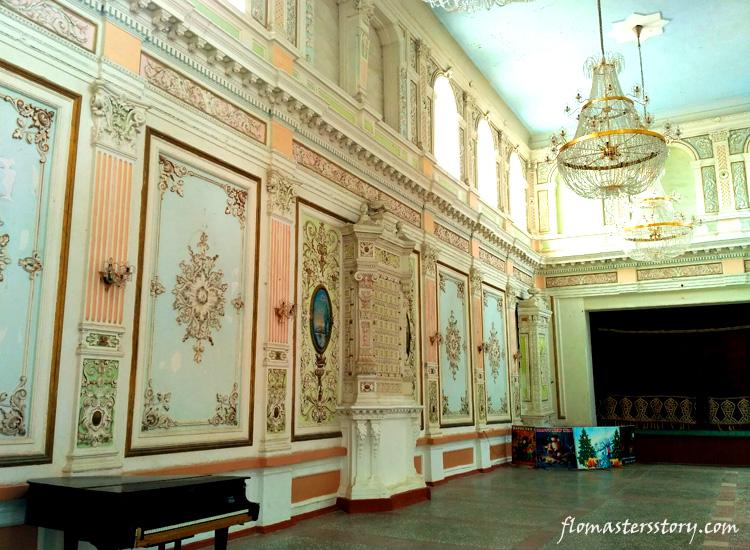 роспись стен дворца Кагана