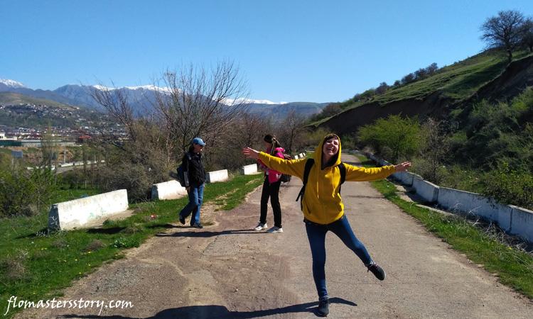 горы под Ташкентом