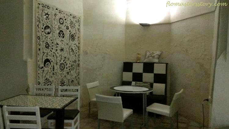 немецкое кафе в Бухаре