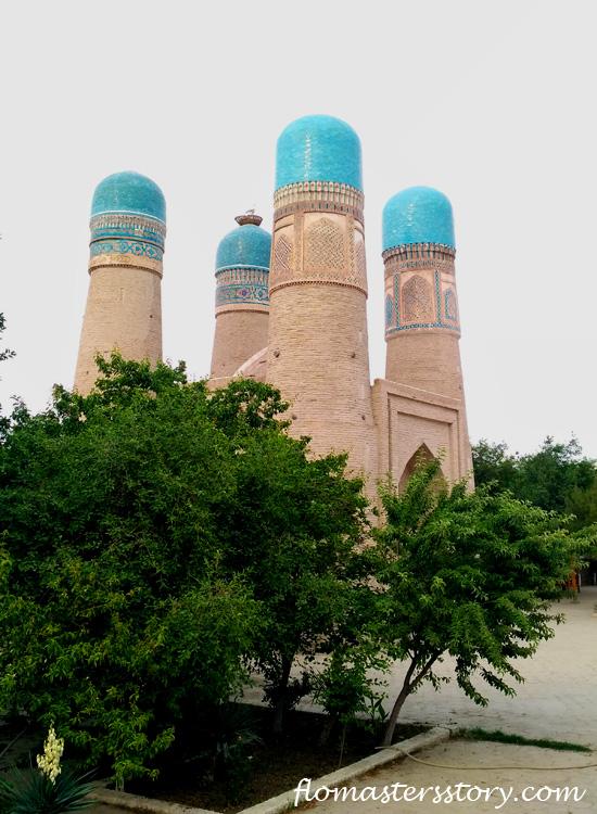 мечеть Чор-Минор, Бухара
